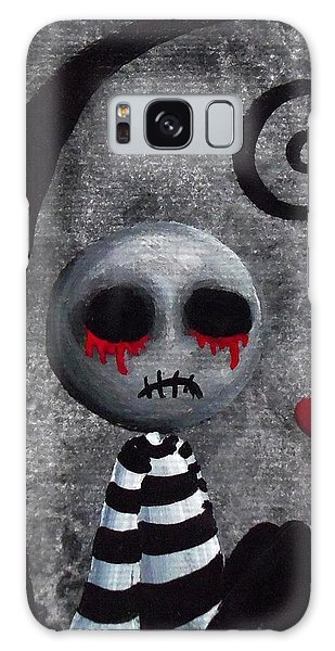 Big Juicy Tears Of Blood And Pain 2 Galaxy Case by Oddball Art Co by Lizzy Love