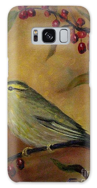 Bird And Berries Galaxy Case
