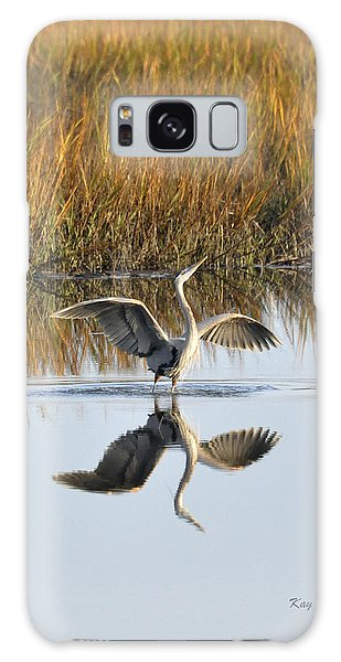 Bird Dance Galaxy Case by Kay Lovingood
