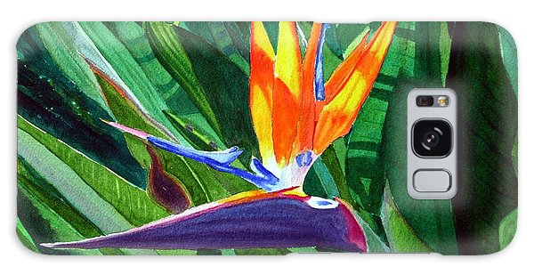 Bird-of-paradise Galaxy Case by Mike Robles