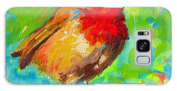 Birdie Bird - Robin Galaxy Case