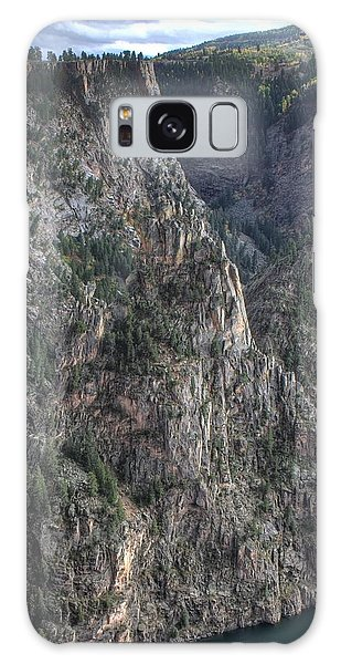 Black Canyon Of The Gunnison National Park Galaxy Case