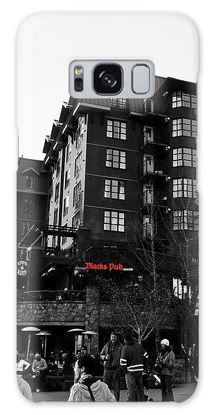 Blacks Pub Whistler Canada Galaxy Case by JM Photography