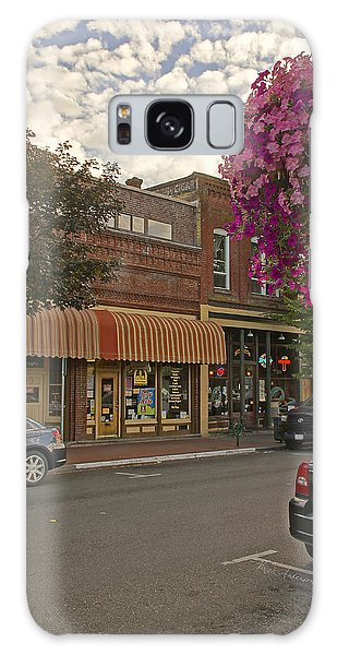 Blind Georges And Laughing Clam On G Street In Grants Pass Galaxy Case by Mick Anderson