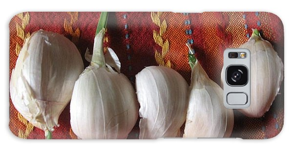 Blooming Garlic Bulbs Galaxy Case