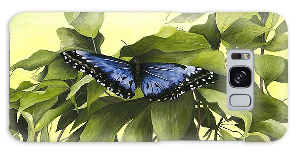 Blue Butterfly Of Branson Galaxy Case