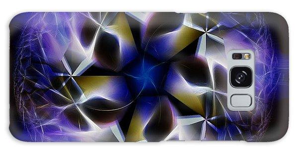 Blue Creation Galaxy Case by Danuta Bennett
