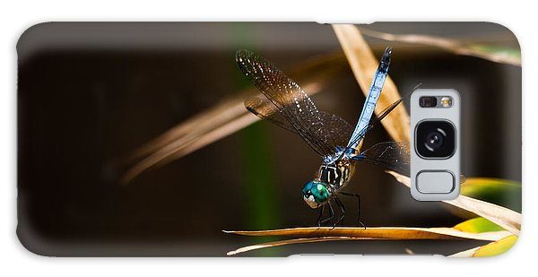 Blue Dasher Dragonfly Galaxy Case