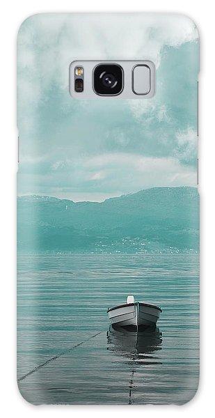 Blue Fjord Galaxy Case