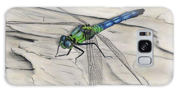 Blue-green Dragonfly Galaxy Case