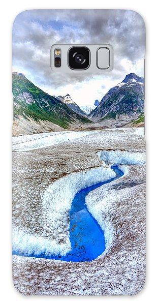 Blue Ice Galaxy Case
