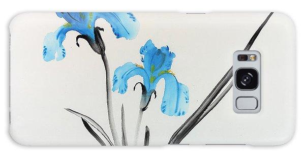 Blue Iris I Galaxy Case
