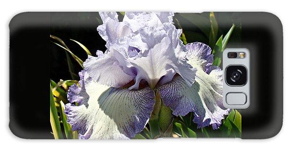 Blue Iris Galaxy Case by Nick Kloepping