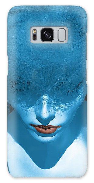 Blue Kiss Galaxy Case