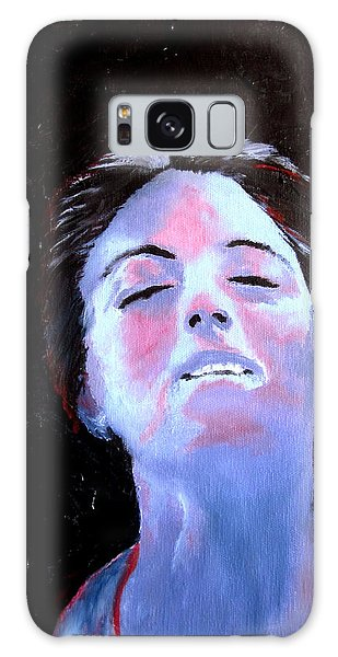 Blue Lady Galaxy Case