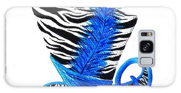 Blue Magic Hat Galaxy Case by Oddball Art Co by Lizzy Love