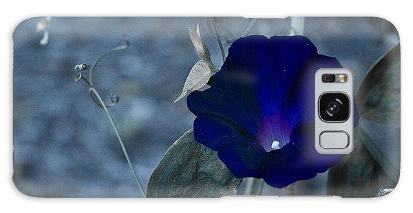Blue Petunia 2 Galaxy Case