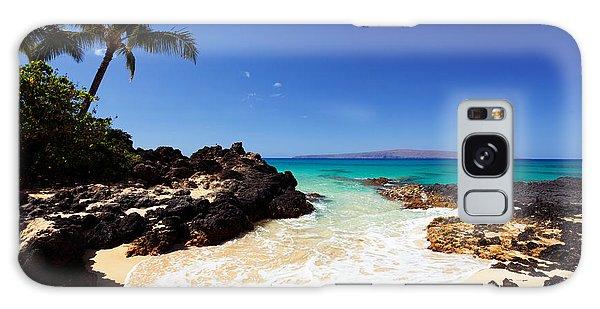 Blue Sky At Secret Beach Makena Galaxy Case