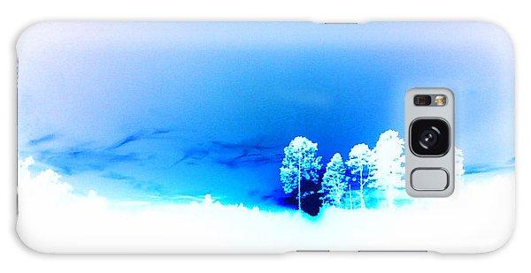 Blue Sky Galaxy Case by Max Mullins