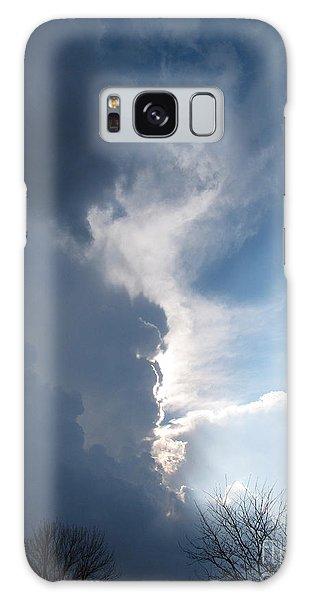 Blue Sunset 1 Galaxy Case by Cedric Hampton