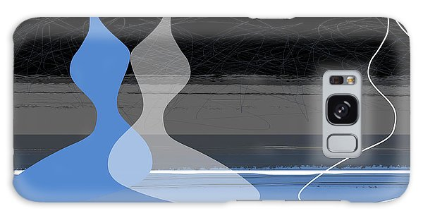 Figurative Galaxy Case - Blue Women by Naxart Studio