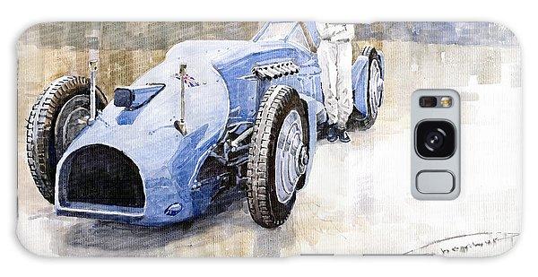 Bluebird Galaxy S8 Case - Bluebird 1933 Daytona Malkolm Campbell by Yuriy Shevchuk