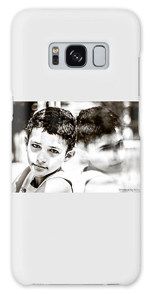Galaxy Case featuring the photograph Blurred Thoughts by Stwayne Keubrick