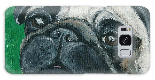 Bo The Pug Galaxy Case