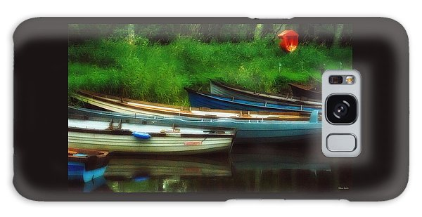 Boats At Rest Galaxy Case