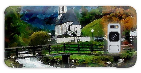 Bosnian Country Church Galaxy Case by Jann Paxton