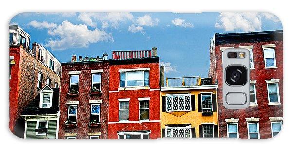 Brick House Galaxy Case - Boston Houses by Elena Elisseeva