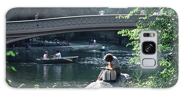 Bow Bridge In Central Park Nyc Galaxy Case