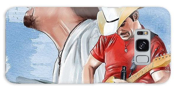 Celebrities Galaxy Case - Brad Paisley by Tony Santiago