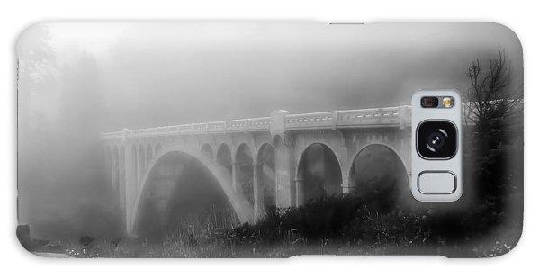 Bridge In Fog Galaxy Case