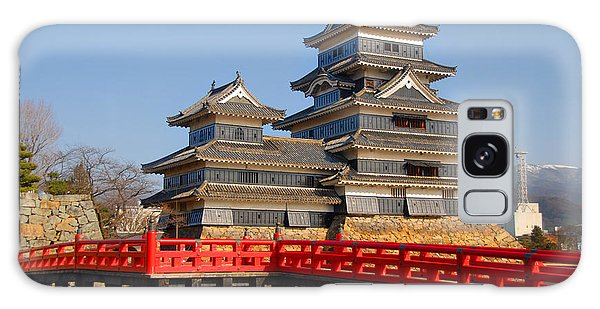 Bridge To The Matsumoro Castle Galaxy Case