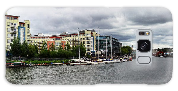 Bristol Panoramic Photograph Galaxy Case by Ken Brannen