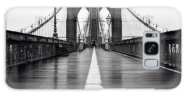 Summer Galaxy Case - Brooklyn Bridge by Randy Lemoine