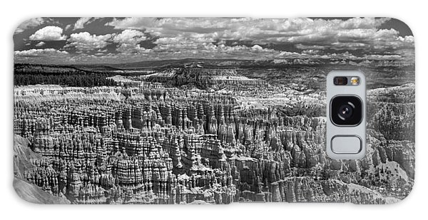 Bryce Canyon - Black And White Galaxy Case by Larry Carr