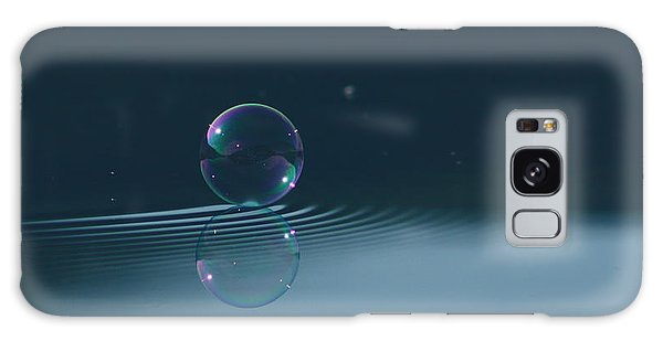 Bubble Ripples Galaxy Case