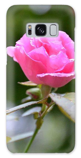 Bubblegum Rose Galaxy Case by Bonnie Myszka