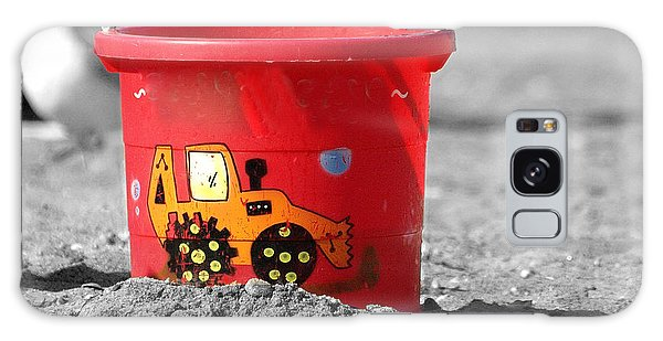 Get A Bucket Galaxy Case by Raymond Earley