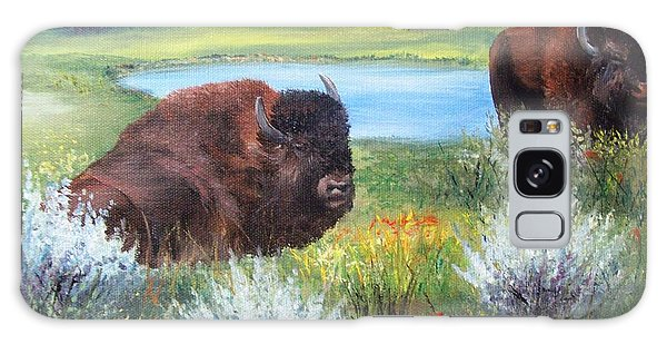Buffalo Repose  Galaxy Case