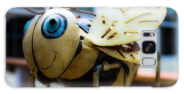 Bumble Bee Of Happiness Metal Sculpture Galaxy Case