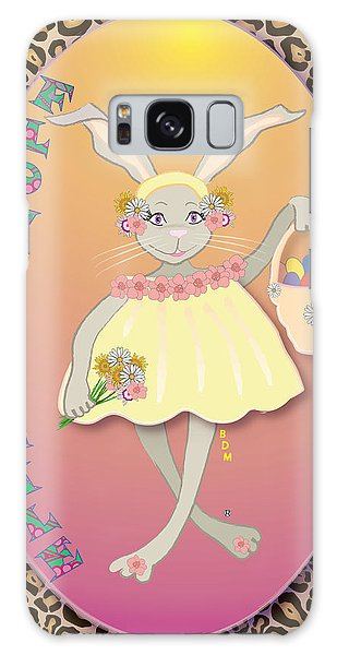 Bunnie Girls- Flowah Chile 1 Of 4  Galaxy Case