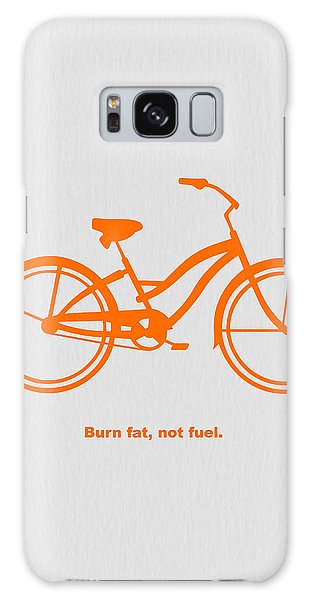 Burn Fat Not Fuel Galaxy Case