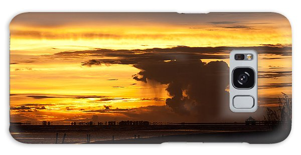 Burning Sky Galaxy Case