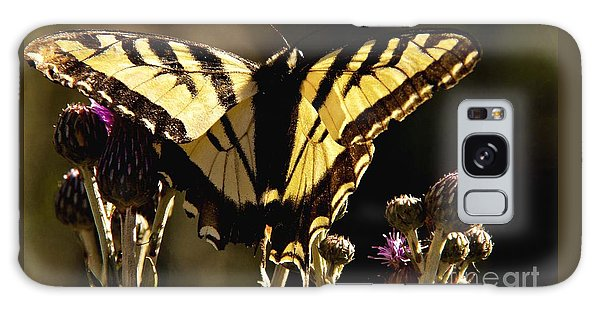Butterfly And Thistle II Galaxy Case