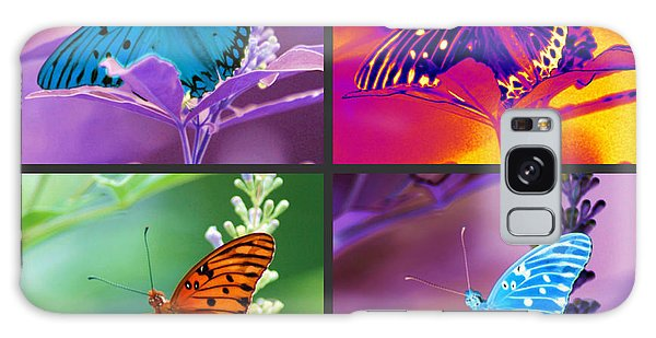 Butterfly Collage Galaxy Case