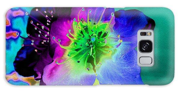 Butterfly Flower Galaxy Case