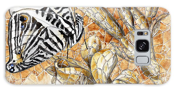 Butterfly Mosaic 02 Elena Yakubovich Galaxy Case